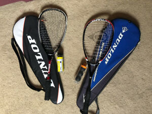 Squash Racquets - SLIGHTLY USED, GOOD CONDITION!