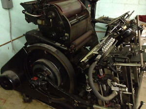 Heidelberg Windmill Platen Press - whole package, lots of stuff