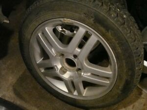 2-185 60 r15 directional snow tires on 4x108 ford focus wheels
