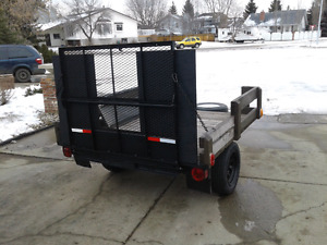 Quad, UTILITY trailer with drop gate SHERWOOD PARK
