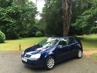 2005 Volkswagen Golf 2.0 GT TDI 5 DOOR HATCHBACK BLUE