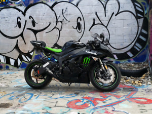 2009 Kawasaki Monster Zx6R