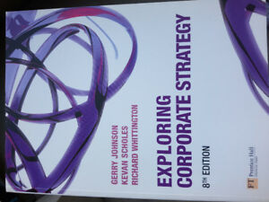 Exploring Corporate Strategy - Textbook MBA