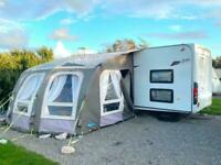 2011 Elddis Avante 646 6 Berth Twin Axle Caravan