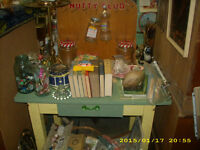 1940s nutty club candy country store display