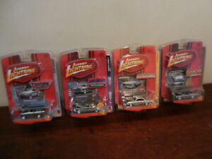 Johnny Lightning 1:64 Chrome Vehicles '51 Hudson Hornet etc.