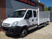 £ 77 A WEEK - 2007 57 REG IVECO DAILY 50C15 PLANT / RECOVERY 7 SEAT B TAIL TRUCK