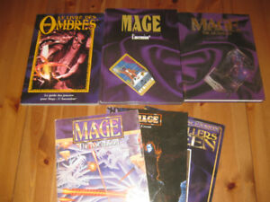 White Wolf - Mage: The Ascension - Mage : L'Ascension - 6 livres