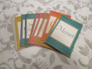 (10) collectible ART BOOKS from the 1950's