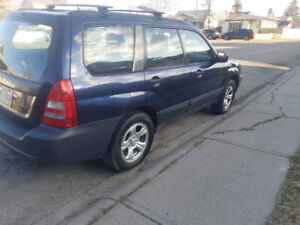 2005 Subaru Forester 2.5 X model $5,000 best offer in excellent