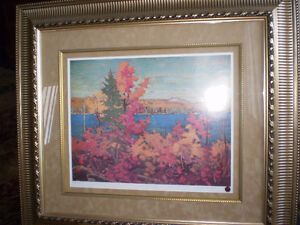 "Tom Thomson - "" Autumn Foliage ""-  Limited Edition Print -"