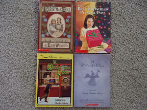 4 Christmas themed novels London Ontario image 1