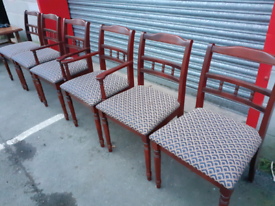 6 Mahogany Chairs