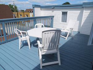 Beautiful Roof Top Terrace Apt. Available July 1st