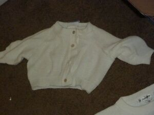 Size 12 months - White Sweater