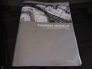 Service Manual for 2011 Touring Models