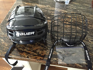 Youth small kids helmet and mask bauer