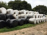 Round bale haylage 2016 made for horses