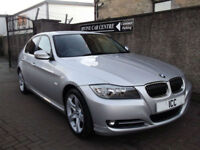 10 60 BMW 318i 2.0 EXCLUSIVE EDITION 4DR FULL LEATHER BLUETOOTH ALLOYS FSH A/C