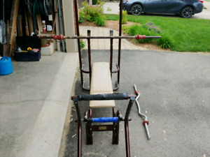 Bench Press w/ 100+ lbs of weight