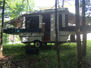 2004 Hard top Tent trailer, Trade for snowmobile