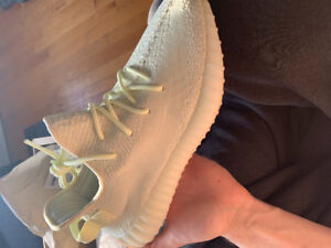 Butter yeezys size 9.5 brand new with tags