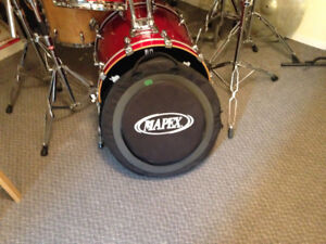 Drumset owned by musician