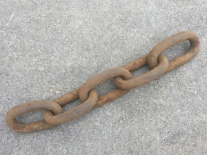 18 lb Anchor -- Chain. Only a few pieces left