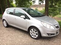 09 Reg Vauxhall Corsa 1.4 Design 5dr ( NEW SHAPE ) like clio fiesta punto ka astra focus 207 micra