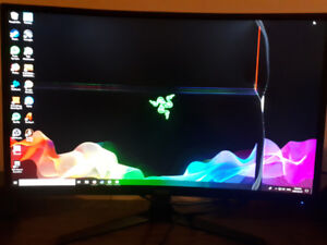 144hz Monitor *cracked*