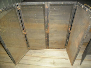 Fire Place Screen - Antique