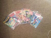 10x old school comics