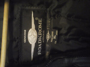 Womans motorcycle  Leather Jacket.