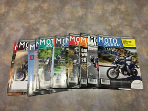 "Lot de Magazines ""Moto Journal"""