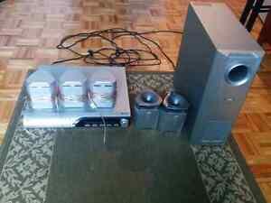 5.1 Surround Speakers & Receiver/DVD Player Gatineau Ottawa / Gatineau Area image 1