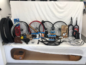 Custom Bicycle Parts - All Reasonable Offers Accepted