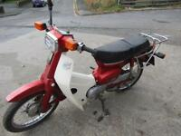 1987 HONDA C90 TIDY FOR YEAR MAKE A NICE PROJECT