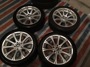 LIKE NEW BMW 5 SERIES REP RIMS