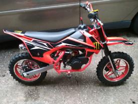Child's, kids 49cc motorbike