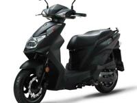 SYM Orbit 125cc E5 Twist & Go Learner Legal Automatic Scooter Moped