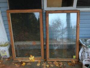 Fenêtres thermos usagées à vendre - $10 chacune