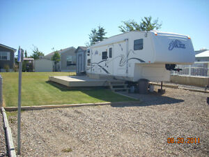Lake McGregor, Alberta, RV Lot for Sale or Lease