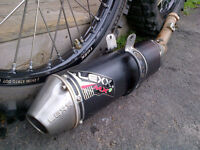 honda crf450x exhaust