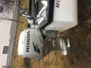 19ft boat motor and trailer