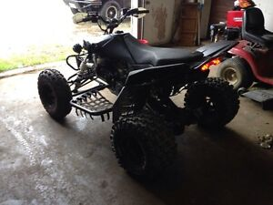 Trade ltr 450 for??