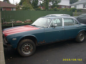 1974 JAGUAR XJ6 ROLLER PROJECT FOR SALE..