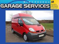 RENAULT TRAFIC LWB HIGH-TOP GREAT CONDITION ** NO VAT **