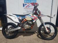 KTM EXC-F 350 ISDE SIX DAYS FI ENDURO BIKE 2016 ONLY 20HRS