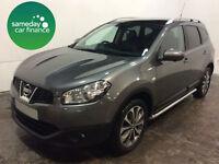 £293.22 PER MONTH GREY 2012 NISSAN QASHQAI+2 2.0 TEKNA AUTO PETROL 7 SEATS
