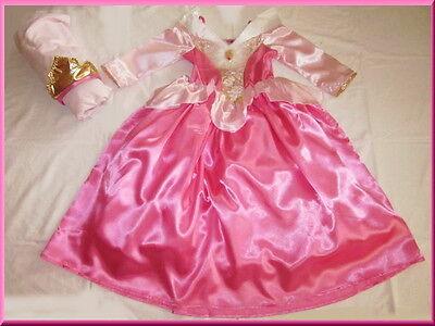 RNRÖSCHEN KOSTÜM BALLKLEID ROSA PINK 98-104-110-116-122-128 (Disney Prinzessin Kleid Kostüme)
